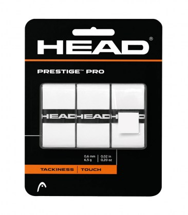 Overgrip HEAD Prestige™ Pro White x3