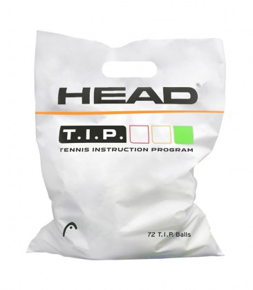HEAD T.I.P. Green – Polybag da 72 palle