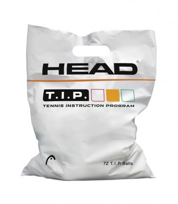 HEAD T.I.P. Orange – Polybag da 72 palle