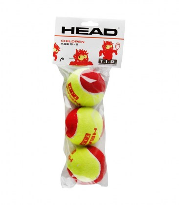 HEAD T.I.P. red – Blister da 3 palle